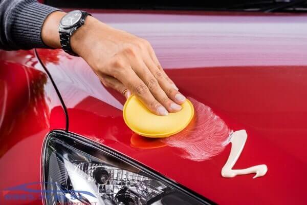 Cách sử dụng kem đánh bóng xe ô tô hiệu quả